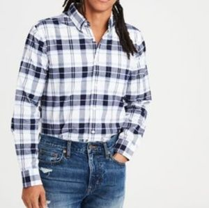 [American Eagle Outfitters] Plaid Oxford Button Up